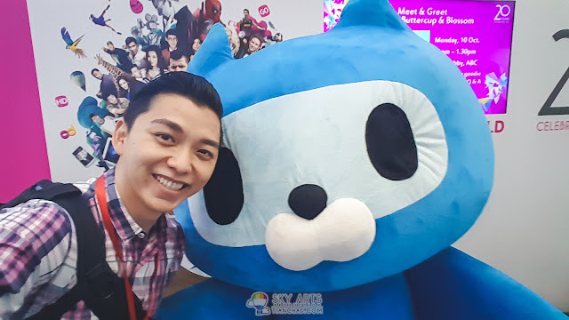 #TCSelfie with OO-Kun. So cute!!