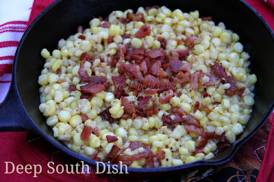Deep South Dish Iron Skillet Southern Fried Corn