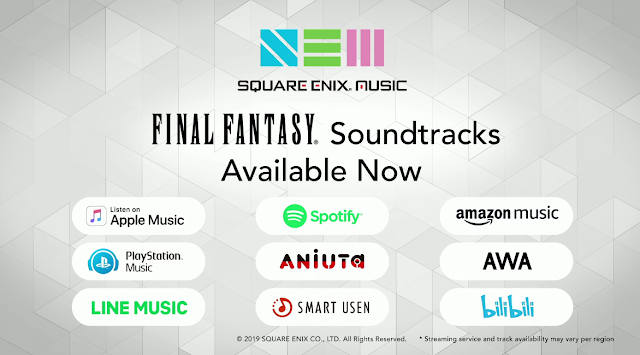 Square Enix Music available now E3 2019