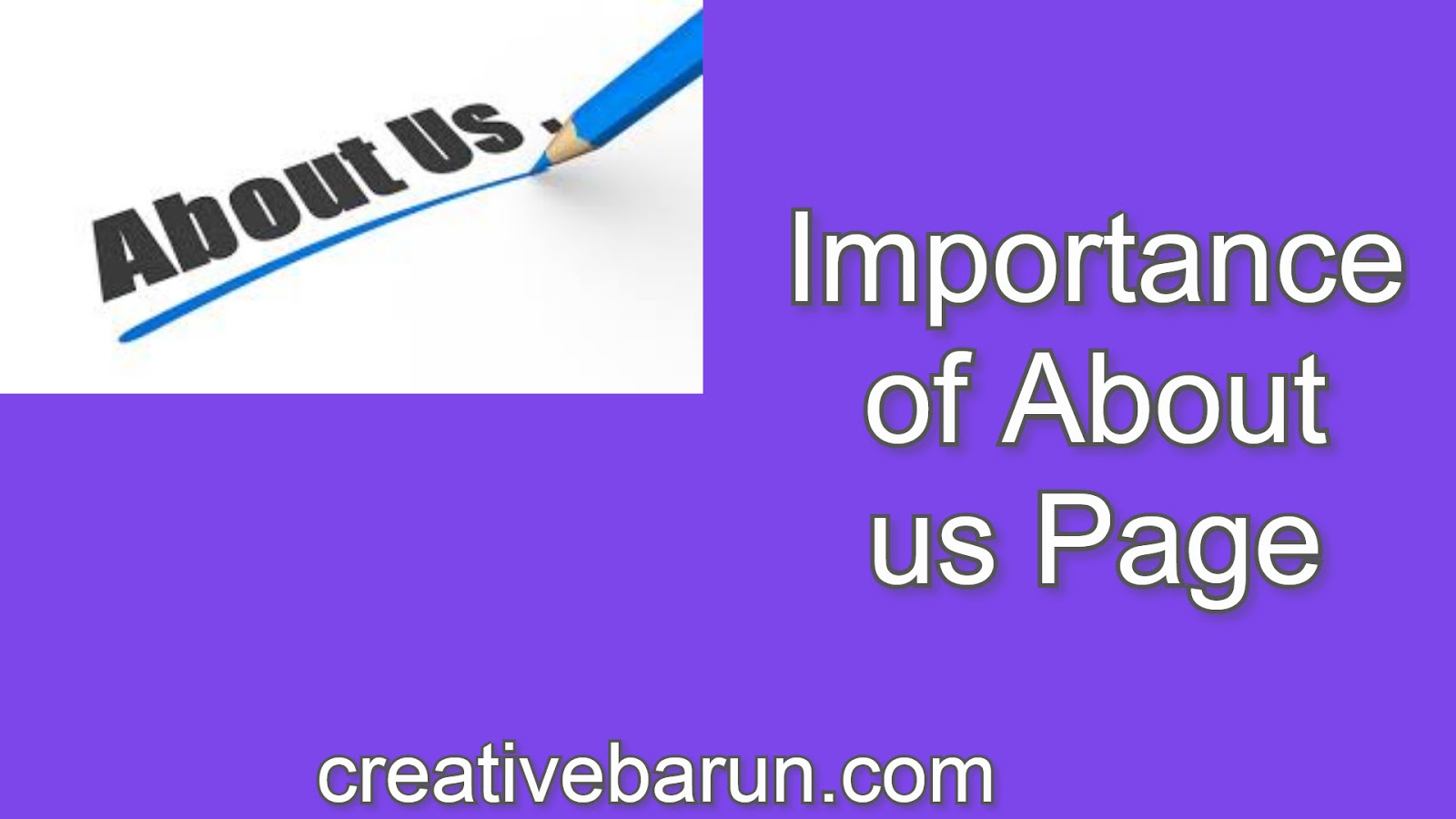 About Us Page | About Me page Importance | How to Add About Us Page