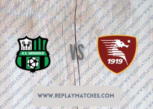 Sassuolo vs Salernitana Highlights 26 September 2021