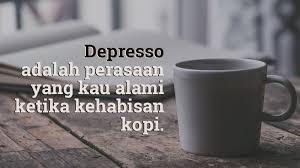 Gambar kopi dan kata kata lucu