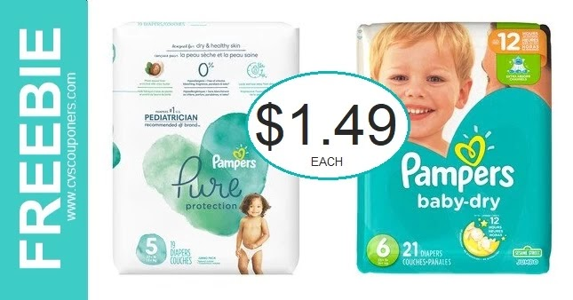 Stock Up Deal On Pampers Diapers at CVS