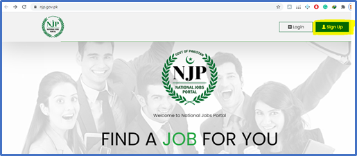 NJP Account Registration