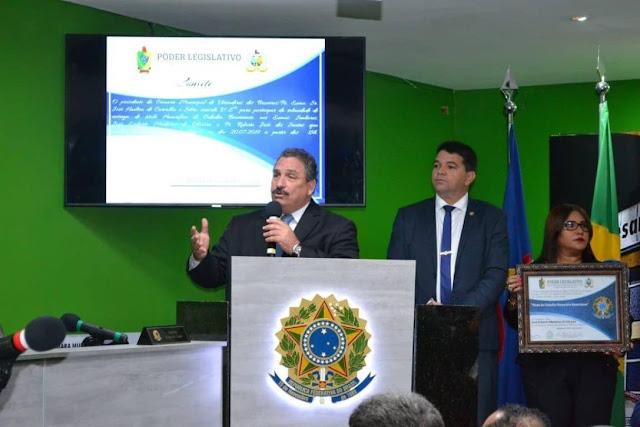 Deputado Eriberto Medeiros recebe título de cidadão de Bezerros