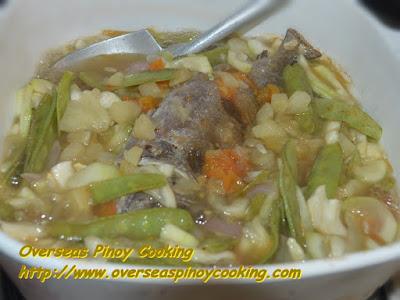 Buridibud a Parda ken Malaga - Cooking Procedure