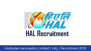 Hindustan Aeronautics Limited ( HAL ) Recruitment 2018