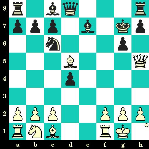 Les Blancs jouent et matent en 2 coups - Boris Kostic vs Paul Keres, Stockholm, 1937