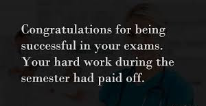 Congratulations For Passing Exams Quotes