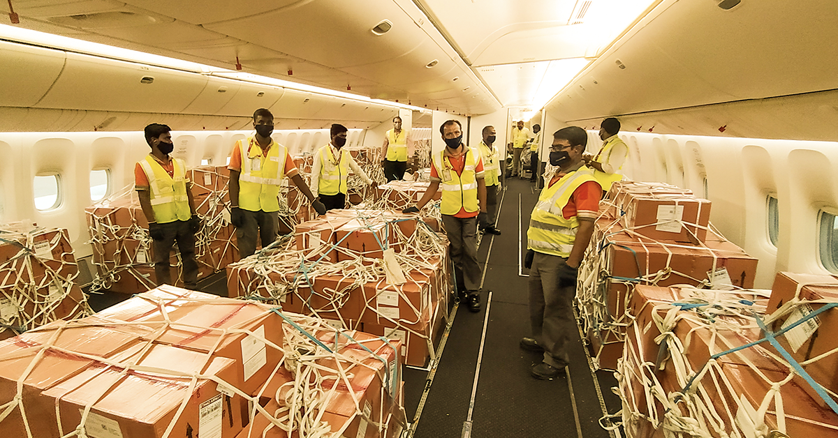 Etihad Cargo and EFL Global deliver vital antiretroviral drugs to Brazil