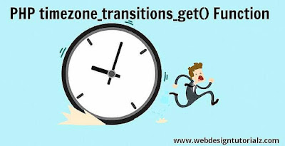 PHP timezone_transitions_get() Function