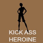 Kick ass heroine book icon