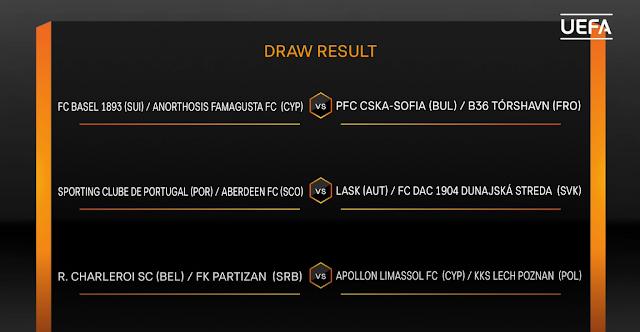 Гостуване на Базел или Анортозис за ЦСКА на прага на групите в Лига Европа