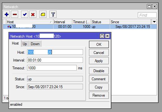 Mikrotik Netwatch - Sending Notif by Email | Muhammad Nazar