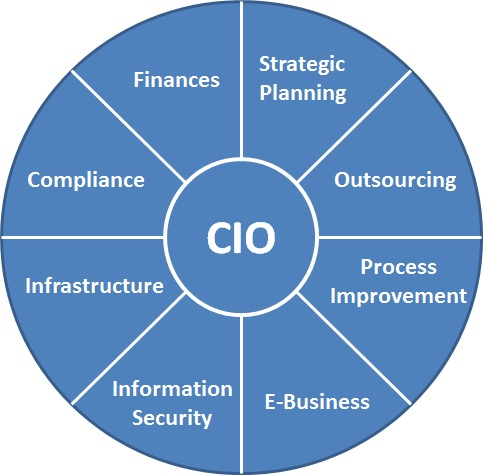 role of the chief information officer information technology essay The supervision of the financial functions of the department is an integral part of the responsibilities of the cfo in cases of public statements to be given on behalf of the company in the areas of financial performance, the chief financial officer is the designated person to perform this task.