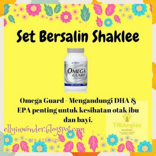 Set Bersalin Shaklee | Omega Guard