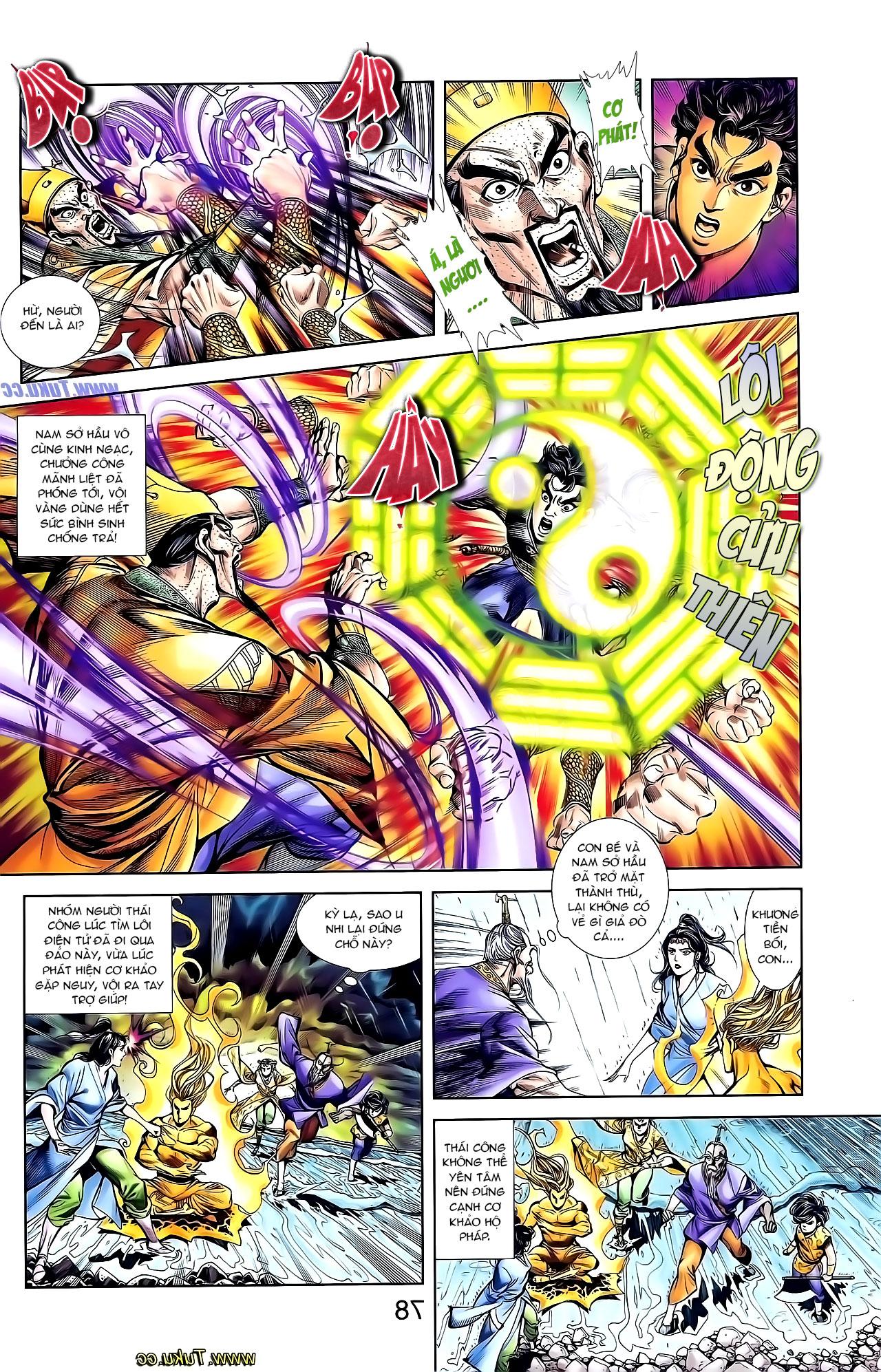 Cơ Phát Khai Chu Bản chapter 131 trang 18