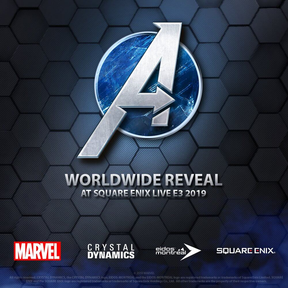 Get Ready For The Worldwide Reveal Of Square Enix's 'Marvel's Avengers' At E3 2019