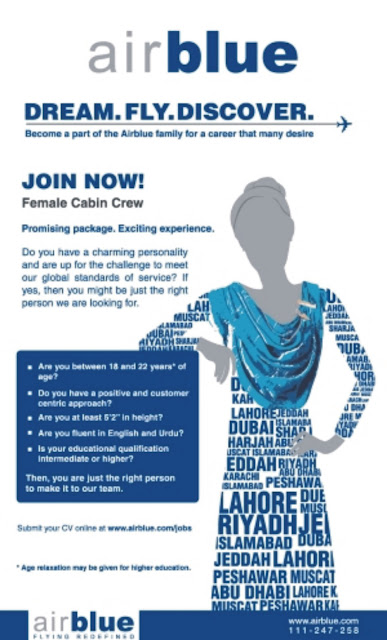 Trainee Female Cabin Crew Jobs in Airblue Jobs