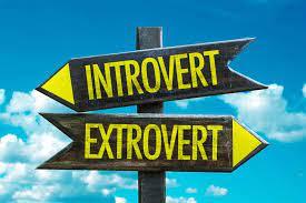 introvert vs ekstrovert
