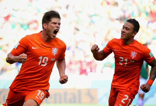 [VIDEO] Belanda - Meksiko (Piala Dunia 2014 Perdelapan Final)