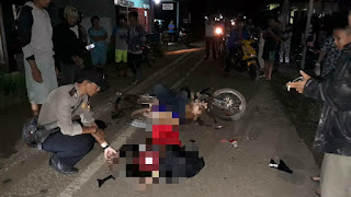 Korban Meninggal Akibat Tabrakan Motor di Semitau Merupakan Warga Seberuang