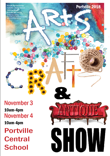 11-3/4 Portville Arts, Craft & Antique Show