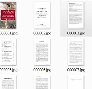 Google book preview pages JPEG format