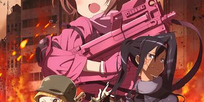 تقرير انمي Gun Gale Online (عاصفة البنادق اون لاين)