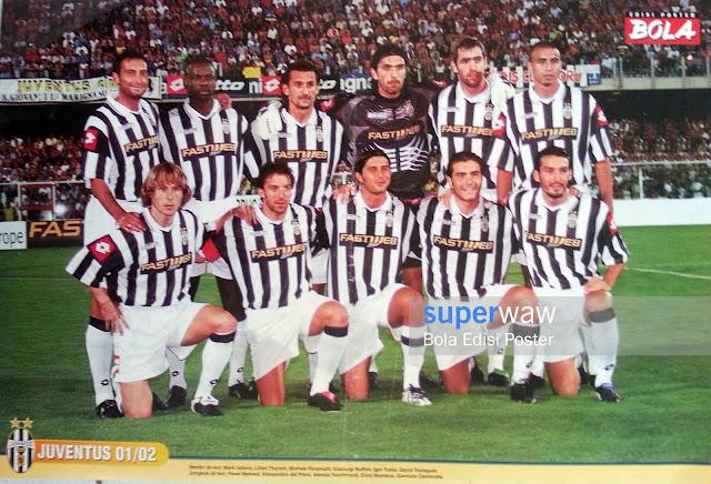 Poster Tim Juventus 2001