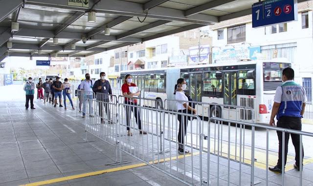El Metropolitano y los corredores dejarían de operar desde el 1 de abril