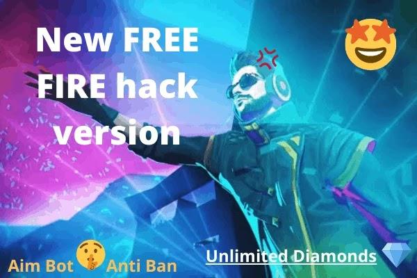FREE FIRE hack version- mod apk 100% unlimited diamonds
