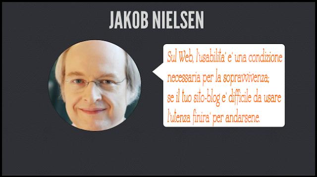 web usability jacob nielsen usabilità