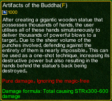 naruto castle defense 6.0 Artifacts of the Buddha detail