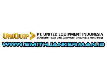 Lowongan PT. United Equipment Indonesia Pekanbaru Maret 2018