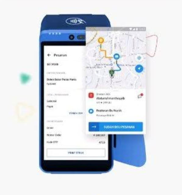 Aplikasi kasir SPOTS Mesin EDC Gopay