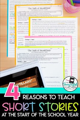 Four Reasons to Teach Short Stories at the Start of the School Year