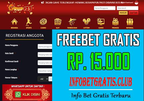 FREEBET GRATIS – GRUP123