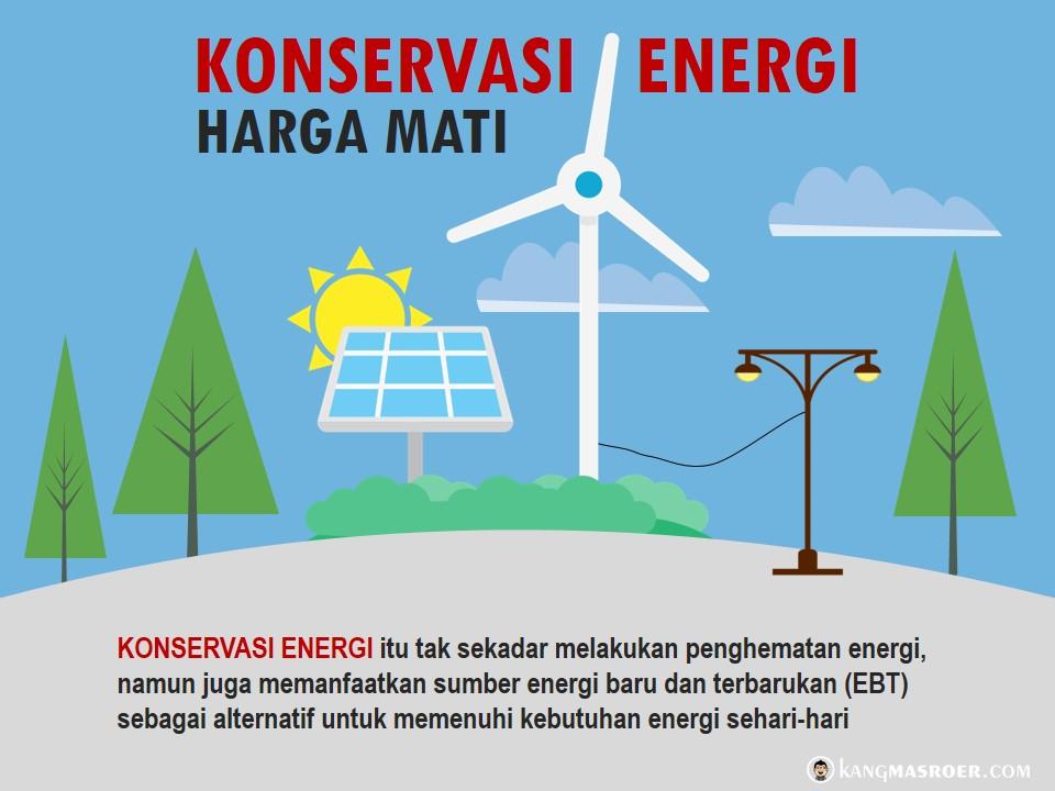 Konservasi energi harga mati