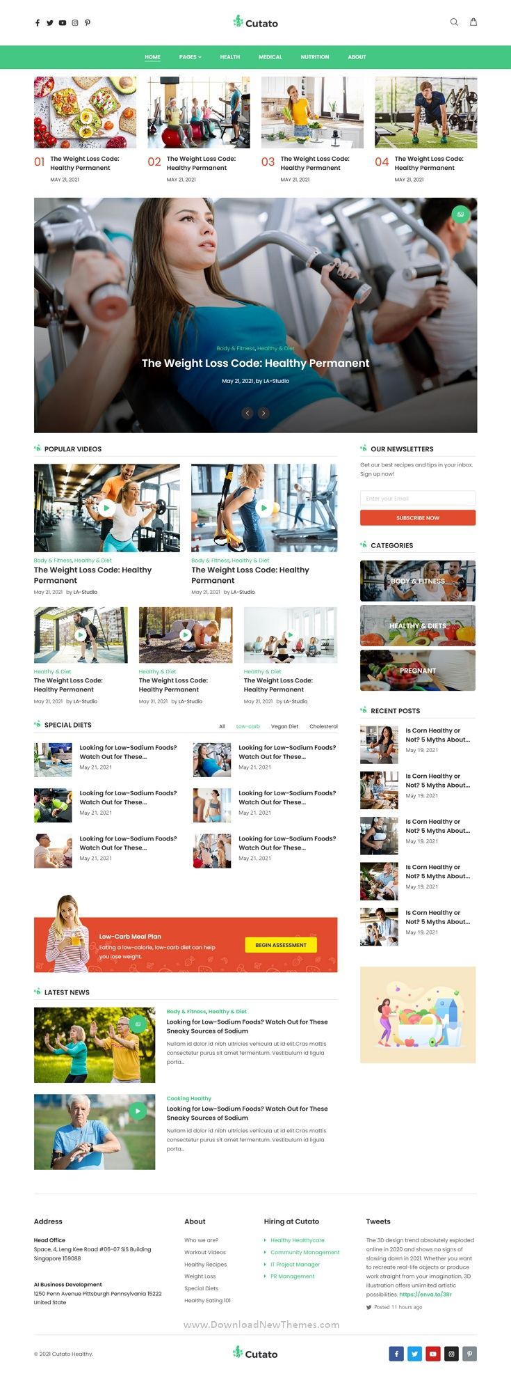 Magazine & Blog Premium Elementor Template Kit
