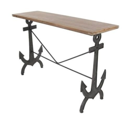Console Table with Anchor Design