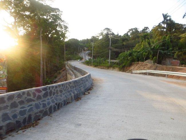 Дорога над обрывом