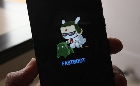 Fastboot Mode On Redmi Note 5 Pro