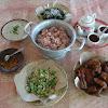 Sego abang dan sayur lodeh lombok ijo khas Jogja