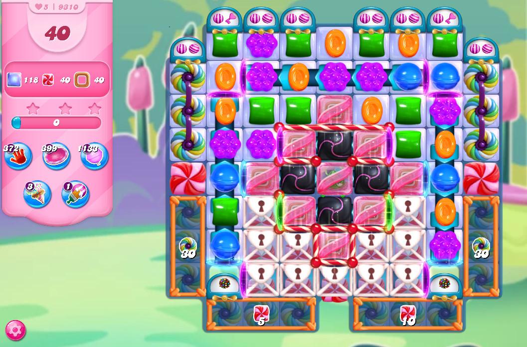 Candy Crush Saga level 9310