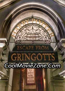 Harry Potter and the Escape from Gringotts (2014)