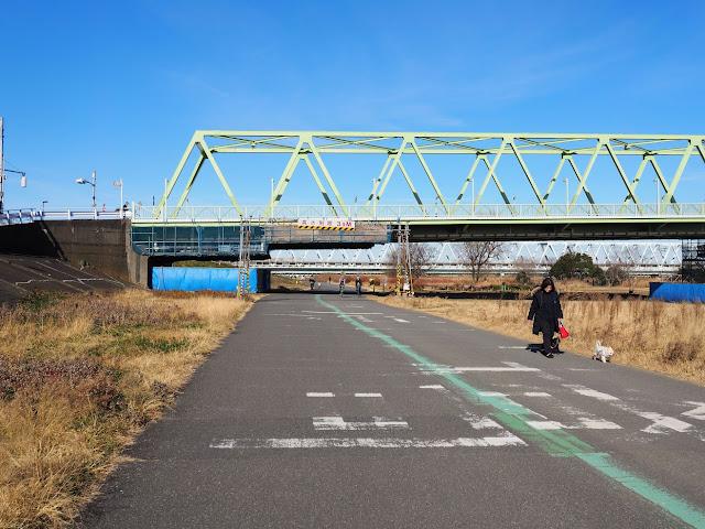 荒川自転車道 木根川橋