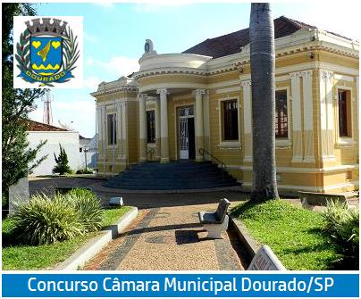 Câmara Municipal Dourado / SP abre inscrições do concurso público