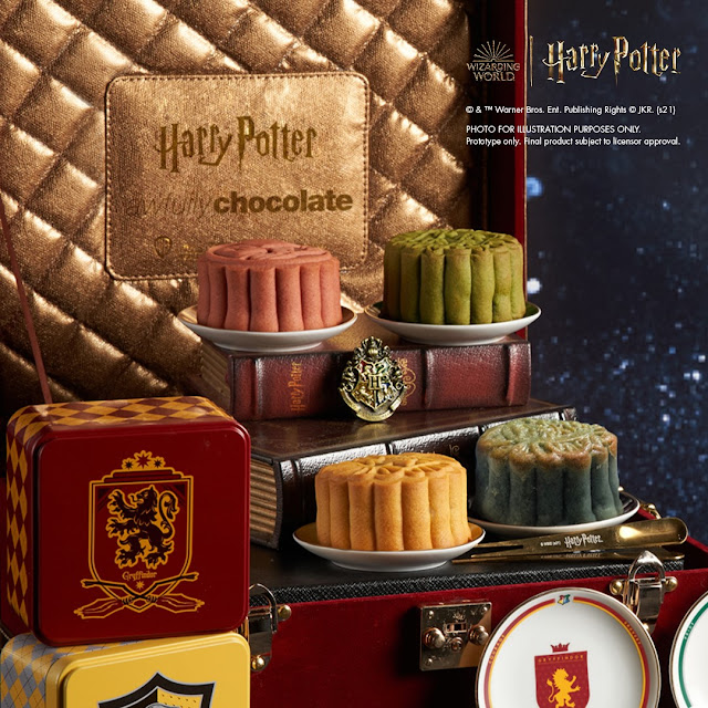 World's First Official Harry Potter Mooncake