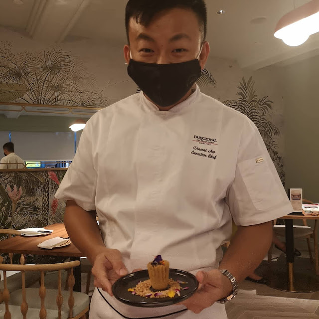 Chef Vincent Aw